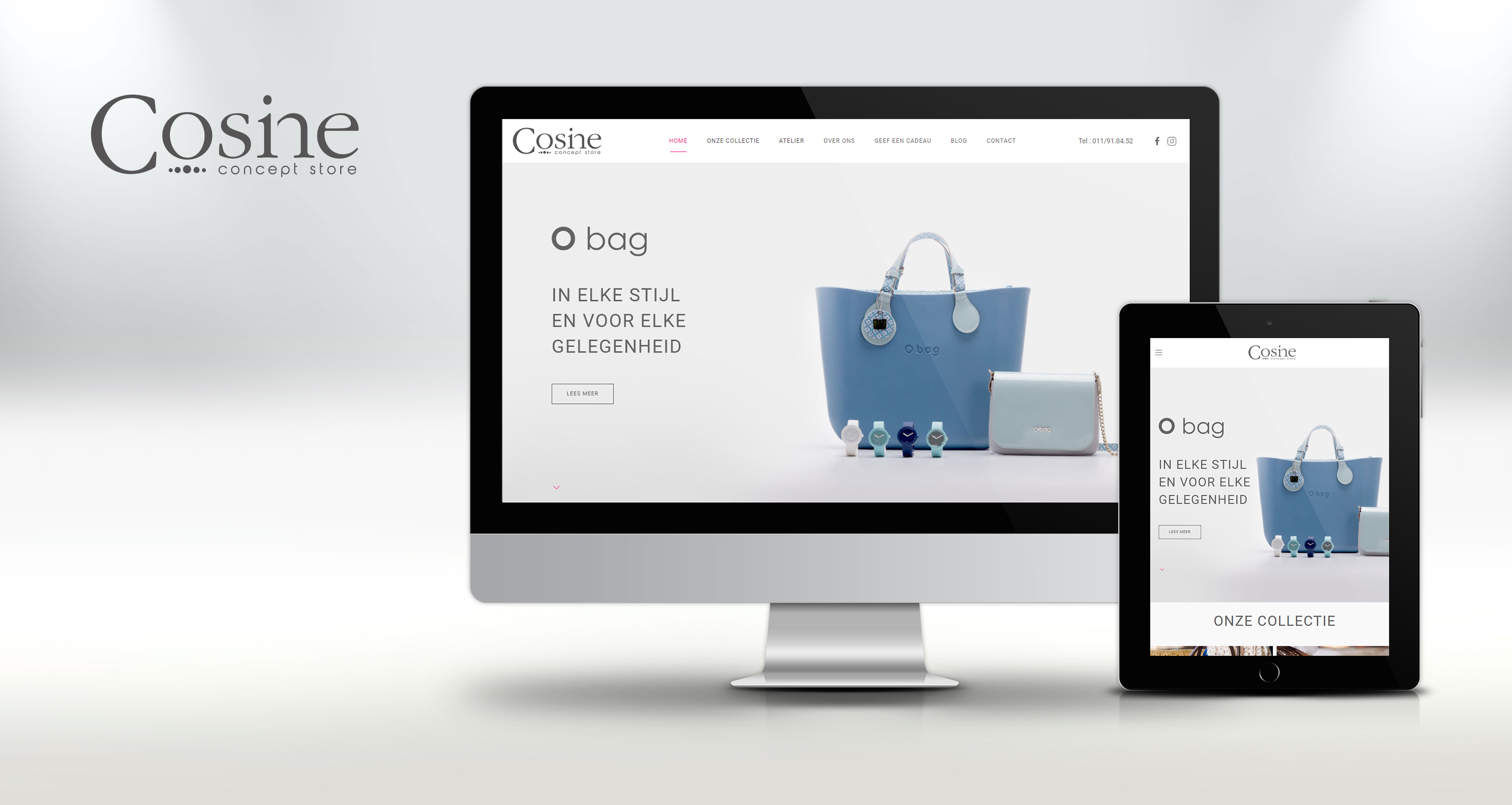 Cosine website design